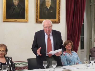 Jantar de Homenagem ao Dr. Luiz Damas Mora